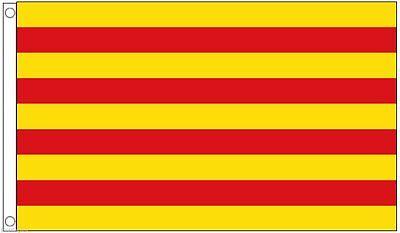 Catalonian Flag 3x5 ft Catalonia Catalan Barcelona Spain Spanish La Senyera](Spanish Flags)