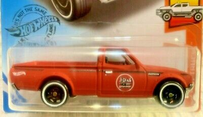 2020 HOT WHEELS - HW HOT TRUCKS #8 - DATSUN 620 PICKUP - BURNT ORANGE - NEW