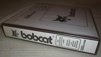 Bobcat 325 X325 Excavator Service Shop Repair Book Manual Sn 514011001-514012999