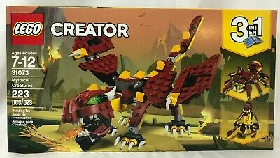 LEGO Creator 31073 Mythical Creatures 3 in 1- NEW, Sealed- Free Shipping, Dragon