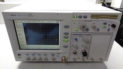 Agilent 86100b Dca Wide Band Oscilloscope W Option 1 86101a Plug Touchscreen
