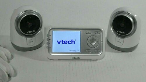 VTech VM3251-2 Video Baby Monitor Infrared Night Vision TWO Cameras 3 DAY SALE!!