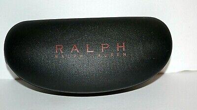 Ray Ban Black Carbon Fiber Hard Glasses Clam Flip Top Case - GUC