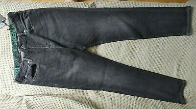 Superdry Slimflex 34 (waist) 32 (leg) new with tags black / dark grey