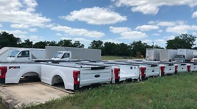 2017 Ford OEM F250 F350 Aluminum 8FT LONG BED New Take Off Tailgate Rear Bumper for sale  Luling