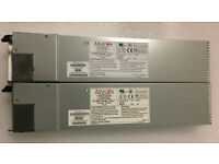 LOT 2 JUNIPER NETWORKS STRM 500 UNIV-PS-400W-AC PWS-401-1R 400W POWER SUPPLY