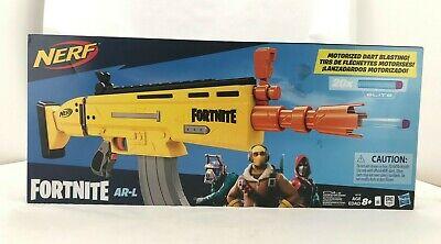 NERF E6158 Fortnite AR-L Elite Dart Blaster (Toy343)