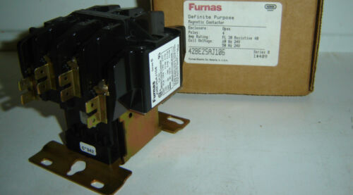 4 Pole 4 P Furnas Magnetic Contactor 42BE25AJ106