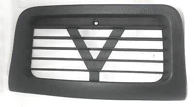 Chevrolet Cavalier Dash Air Duct Vent Center Trim Upper 95-2005 Dark Gray Black