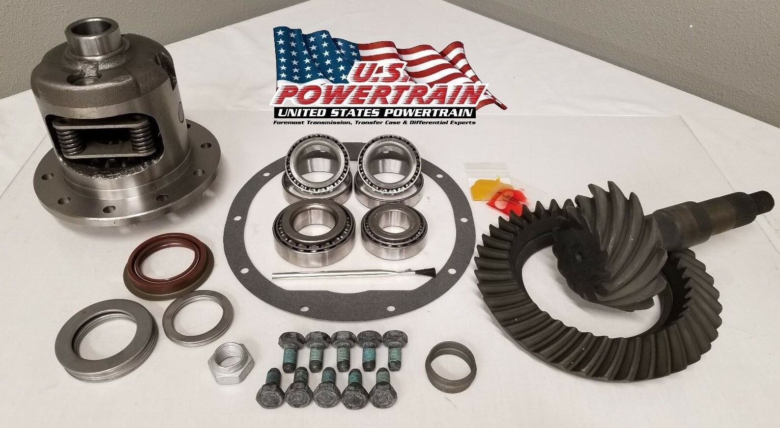 """1999-2008 GM 8.6/"""" Chevy 10 Bolt 4.10 Ring and Pinion Master 8.5/"""" Elite Gear Pkg"""