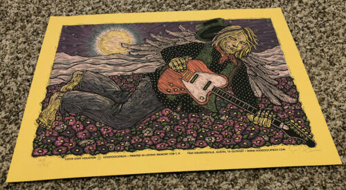 Tom Petty S/N Silkscreen Print Poster You Belong Among the Wildflowers