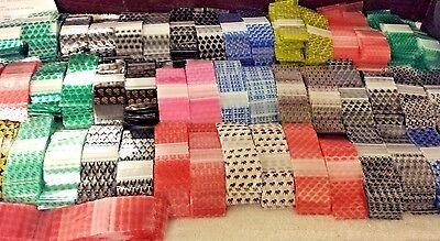 25 Designs 100 Small Zip Lock Baggies 1515 1 12 X 1 12 1.5 X 1.5 Mini Bags