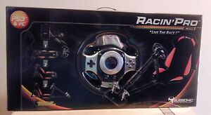 Subsonic-Racing-Racin-Pro-Seat-Steering-wheel-and-Pedals-for-PS3-and-PC-Yellow