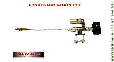 WOW GASREGLER GASHAHN KOMPLETT GASGRILL GRILL GAS BRÄTER VON YOURGRILL