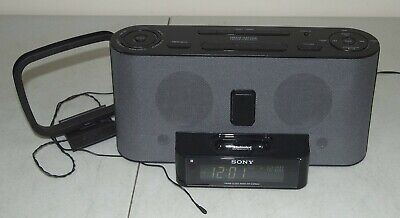 SONY Dream Machine #ICF-C1iPMK2 FM/AM Alarm Clock Radio iPhone iPod Dock