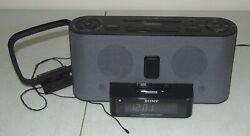 SONY Dream Machine #ICF-C1iPMK2 FM/AM Alarm Clock Radio iPhone iPod Dock