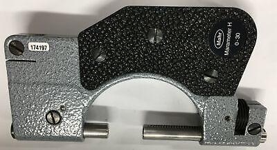 Mahr 4451000 Marameter H Indicating Snap Gage 0-30mm Range Wout Tipsindicator