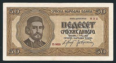Ro.607 Besetzung Serbien 500 Dinar 1942 (1/1-)