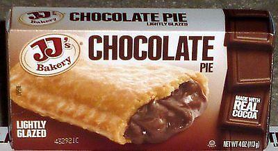 Jjs Bakery Lightly Glazed Snack Pies 4 Oz  6   Chocolate  Remember Hostess