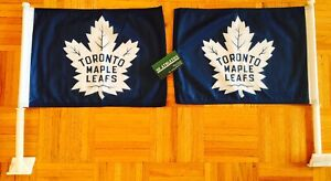 Premium Toronto Maple leafs Car Flag