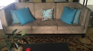 Large custom made 3 seater sofas Benowa Gold Coast City Preview
