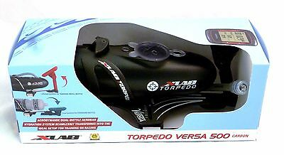 X-Lab Torpedo Versa 500 Carbon Black Airflow Triathlon Hydration System Xlab