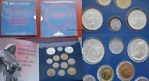 500 LIRE BIMETALLICO FIOR DI CONIO 2000 - Italia - 500 LIRE BIMETALLICO FIOR DI CONIO 2000 - Italia