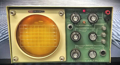 Vintage Heathkit Ev-3 Oscilloscope Impscope - Stripped Power Switch