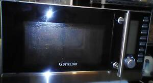25 LITRE STIRLING MICROWAVE CONVECTIONAL OVEN WITH GRILL 1000w Petersham Marrickville Area Preview