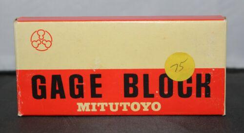 """Mitutoyo 2 inch Rectangular Steel 2"""" Gauge Block 611202-22"""