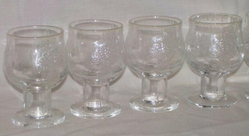 Arabia Finland Crystal Silja Glass Cordials Liquor Cocktails 4