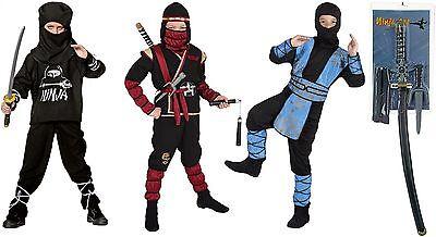 Ninja Kostüm Ninjakostüm Dragon Schwert American Samurai Krieger Kämpfer Soldat