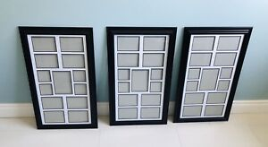 Poster/collage frame trio