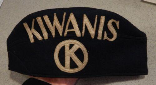Kiwanis Cap by Yenhoff & Hillen of Louisville, KY circa 1940 - Size 7 1/4