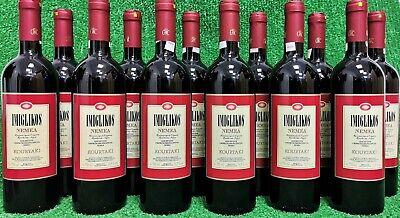 (5€/l) 12x Kourtaki Imiglikos Nemea, lieblich, á 0,75l Rotwein Griechenland