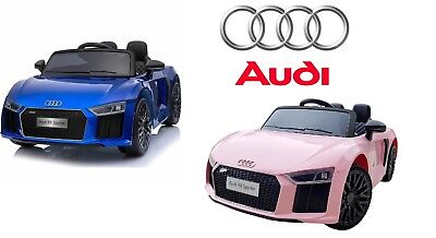 12v OFFICIAL AUDI R8 SPYDER ELECTRIC BATTERY RIDE ON CAR + PARENTAL REMOTE