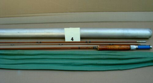 Vintage Montague Sunbeam split bamboo Fly fishing rod (item # 4)