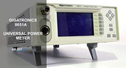 GIGATRONICS 8651A 100 kHz to 40 GHz POWER METER **LOOK** (REF.: 713G)