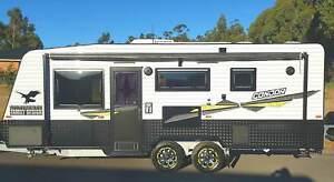 2018 21ft Ultimate Family Condor Caravan Double/Triple Bunk
