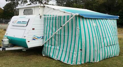 17' 2000 JAYCO FREEDOM POPTOP CARAVAN, ROLLOUT AWNING, AIR CON Brisbane City Brisbane North West Preview