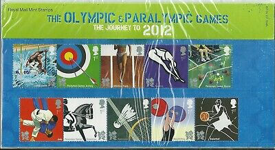 GB 2009 PRESENTATION PACK THE OLYMPIC & PARALYMPIC GAMES JOURNEY 2012