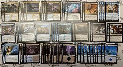 60 Card Deck - BLUE/BLACK DRAGON CONTROL! - Ready to Play - Magic MTG FTG