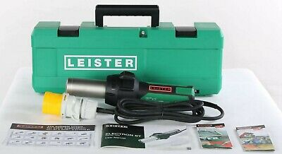 New 145.563 Leister Electron St Hot Air Blower Tool With Uk Plug Case