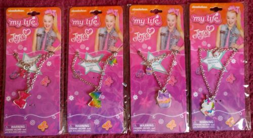 My Life JoJo Siwa Girl & Doll Necklace  Set of 4 Lot  Nickelodeon  American Girl