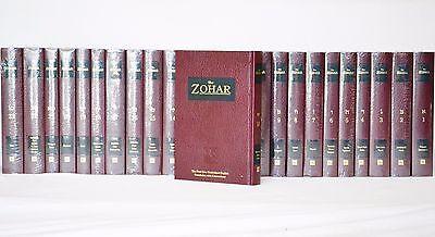 The Zohar Kabbalah 2003 Unabridged English Translation 23 Vol Complete Set New