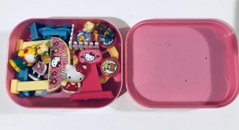 Sanrio Hello Kitty SET Playset Carnival Farris Wheel Fair With 5 Figures