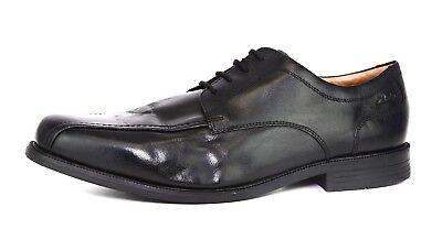 Clarks Beeston Stride Leather Oxford Black Men Sz 14 1268