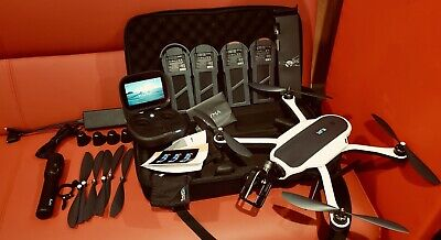 GoPro Karma Drone/Quadcopter with Grip and Harness for Hero5/6/7... 4 Batteries