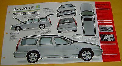 Volvo V70t5 - 1996 97 1998 Volvo V70 T5 Station Wagon 2319cc Inline 5 Cyl EFI Info/Specs/photo