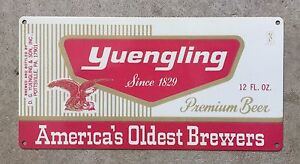 Yuengling Premium Beer Pottsville PA America's Oldest Brewery Vintage Metal Sign